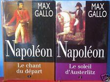 Max Gallo,  Napoléon, 2 tomes