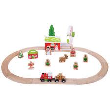 Bigjigs Rail Winter Wonderland Christmas Train Set