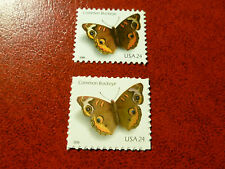 United States Scott 4000 - 4001, the two 24 cents Butterfly stamps Mint