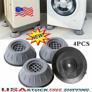 Anti Vibration Washing Machine Foot Pads Shock Noise Cancelling Stabilizer Pad