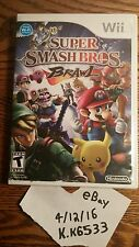 Super Smash Bros. Brawl All Pamphlets And Manuals BEST GAME ON THE Nintendo Wii!