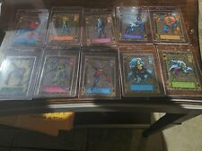 1994 Marvel Amazing Spiderman Suspended Animation Insert Set Missing #5 And #8