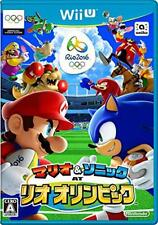 New Mario and Sonic at the Rio 2016 Olympic Games Nintendo Wii U From Japan