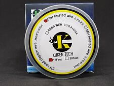 fil KUKEN TECH kanthal A1 FLAT TWISTED WIRE ( 0,2 x 0,8 x 2 )