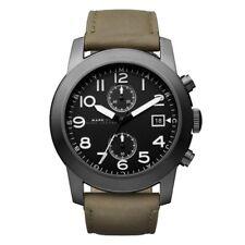 Marc Jacobs Men's MBM5034 Larry Chronograph Olive Leather Watch