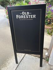 Old Forester Bourbon Whiskey Beer Bar A-Frame Chalkboard Man Cave Mirror
