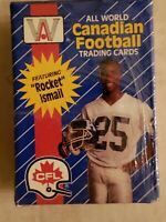 "RARE FACTORY SEALED 1991 AW SPORTS INC ALL WORLD CFL 110 CARD SET  ""ROCKET"""