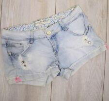 Jeans da donna basso blu taglia S