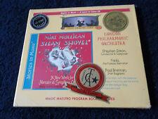 New & Sealed, MIKE MULLIGAN STEAM SHOVEL - London Philharmonic, Stories CD 2004