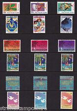 Cocos Islands - Xmas - U/M - 1986 + 1987 + 1988 + 1989 + 1990 + 1993 'Bundle'