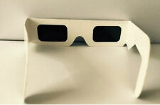 Paper glasses for solar eclipse watch the sun safely filter sun light