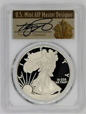 2013-W $1 Proof Silver Eagle PR70 PCGS Thomas Cleveland Art Deco