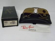 New Vintage B&L Ray Ban Outdoorsman Gold Driving B-20 Chromax 58mm W1663 USA