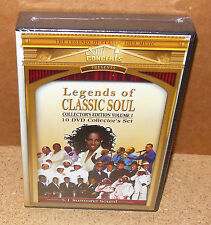 Legends of CLASSIC SOUL Collector's Edition Volume 1 (10-DVD 2009) SEALED