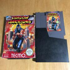 Nintendo NES Boxed Game - Shadow Warriors Ninja Gaiden