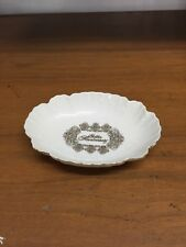 Vintage Treasure Masters Golden Anniversary Trinket Dish/bowl