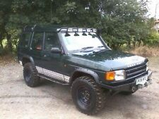 landrover discovery winch bumper