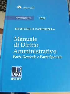 Caringella manuale di amministrativo 2021 dike XIV edizione