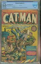CATMAN #4 [1941] CERTIFIED[5.0] [R] STRIKE BREAK