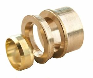 NEW compression reducing set 10mm x 8mm, BRASS, plumbing, water, reducer