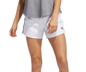 adidas Shorts Womens New ChangeOver Training High Rise French Terry Cotton White