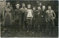 Wk 1, Russische Gefangene. Original-Photo um 1917.