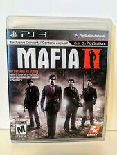 Mafia II - with Manual (Sony PlayStation 3, 2011)