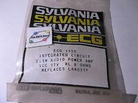 Sylvania ECG1150 IC 2.5W Amplifier DIP Equivilant LA4051P NTE1150 NOS Qty 1