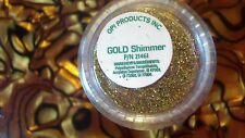 OPI Gold Shimmer Additives Nail Art Dust Holograhic Glitter SHIPS TODAY USA SELL