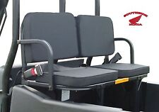 YAMAHA RHINO  REAR RUMBLE SEAT  STANDARD BLACK