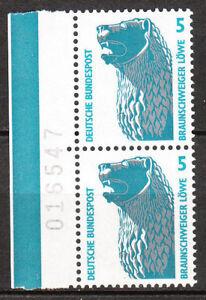 BRD 1990 Mi. Nr. 1448 Bogennummer Postfrisch (3296)