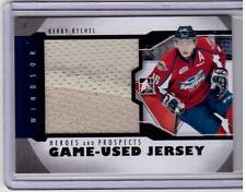 KERBY RYCHEL 12/13 ITG H&P Rookie Jersey RC M-25 Windsor Spitfires Hockey Card