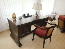 Set: Schreibtisch und Schreibtischstuhl - 1930er Jahre