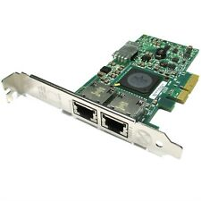Dell Broadcom Gigabit Ethernet Dual Port PCIE X4 Network Adapter Card G218C