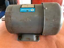 Delta Rockwell Motor 1hp 3 Phase 230460v 1725 Rpm