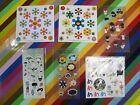 vtg 2000s Takashi Murakami sticker sheet - Flowers Jellyfish Chibi Kinoko & more