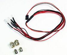 Absima 2320041 LED Set blanc/rouge Aluminium Titulaire 1:10