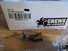 NEW Crews Glasses SS110, Safety 08072015, Lot of 10 Pairs  *FREE SHIPPING*