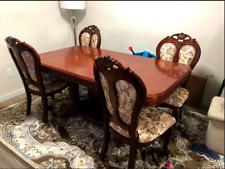 Eettafel met 4 stoelen