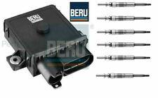 Glow Plug Control Unit Relay Module & Glow Plugs E60 E61 525d,530d,535d BERU