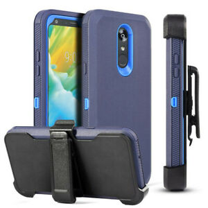 For LG K40 /Harmony 3/Solo LTE Belt Clip Fits Otterbox Case + Screen Protector