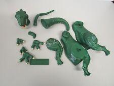 Vintage Aurora Prehistoric Scenes Allosaurus Dinosaur Model Kit Parts Lot
