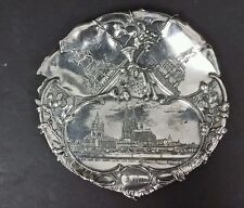 Antique Silverplate Dish Gesetzl Gesch W.M.F of KOLN Germany late 1800's