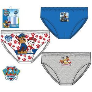 Paw Patrol 3 St. Kinderunterwäsche Unterhose Slip
