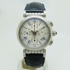 DUBEY & SCHALDENBRAND Spiral one Chronograph Watch DS/SP11/ST/SIB/LD Used Silver