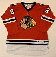 Youth L/XL Red Chicago Blackhawks Hockey Jersey NHL Reebok Kane 88