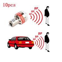 10PCS LED Reverse Alarm Light Car Back Up BEEPER Car Warnning Alert LED Bulbs