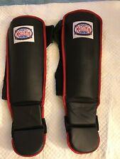 Combat Sports Hook & Loop MMA Shin Guards