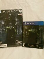 PS4 Injustice 2 Ultimate Edition Steel book