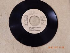 Dickey Lee : The Busiest Memory In Town 45 Rpm Promo / Rca 10091